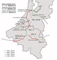 vysokorychlostní tratě Belgie, Nizozemí