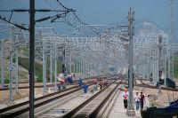 Čína výstavba vysokorychlostní trati