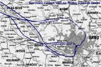 VRT Brno varianty příjezdu