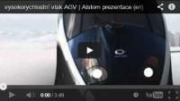 3D animace vlaku AGV