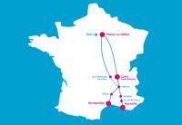 TGV Ouigo trasy