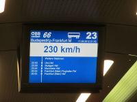 railjet 230 km/h