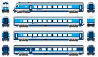 český railjet výkres