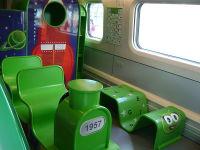 dětský koutek ve vlaku Allegro