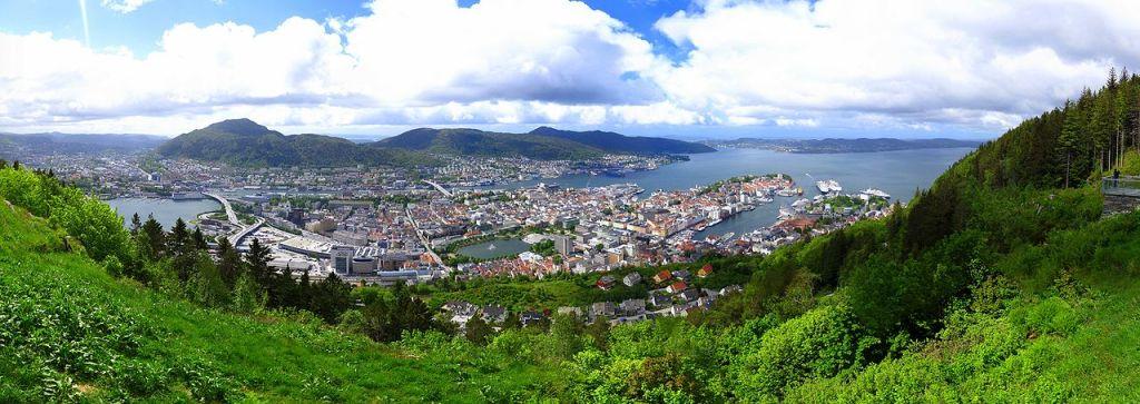 Bergen panoráma