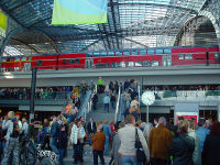 interrail Berlin Hauptbahnhof