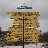 Narvik rozcestník