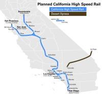 vysokorychlostní tratě v Kalifornii