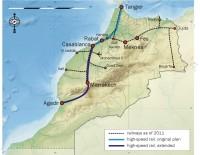 vysokorychlostní tratě Maroko