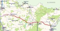 trasa LGV Est Baudrecourt - Vendenheim