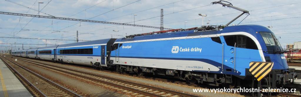 railjet vlak Breclav
