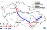trasy VRT (TEN-T) v ČR