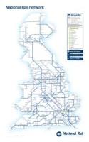 Británie železniční mapa