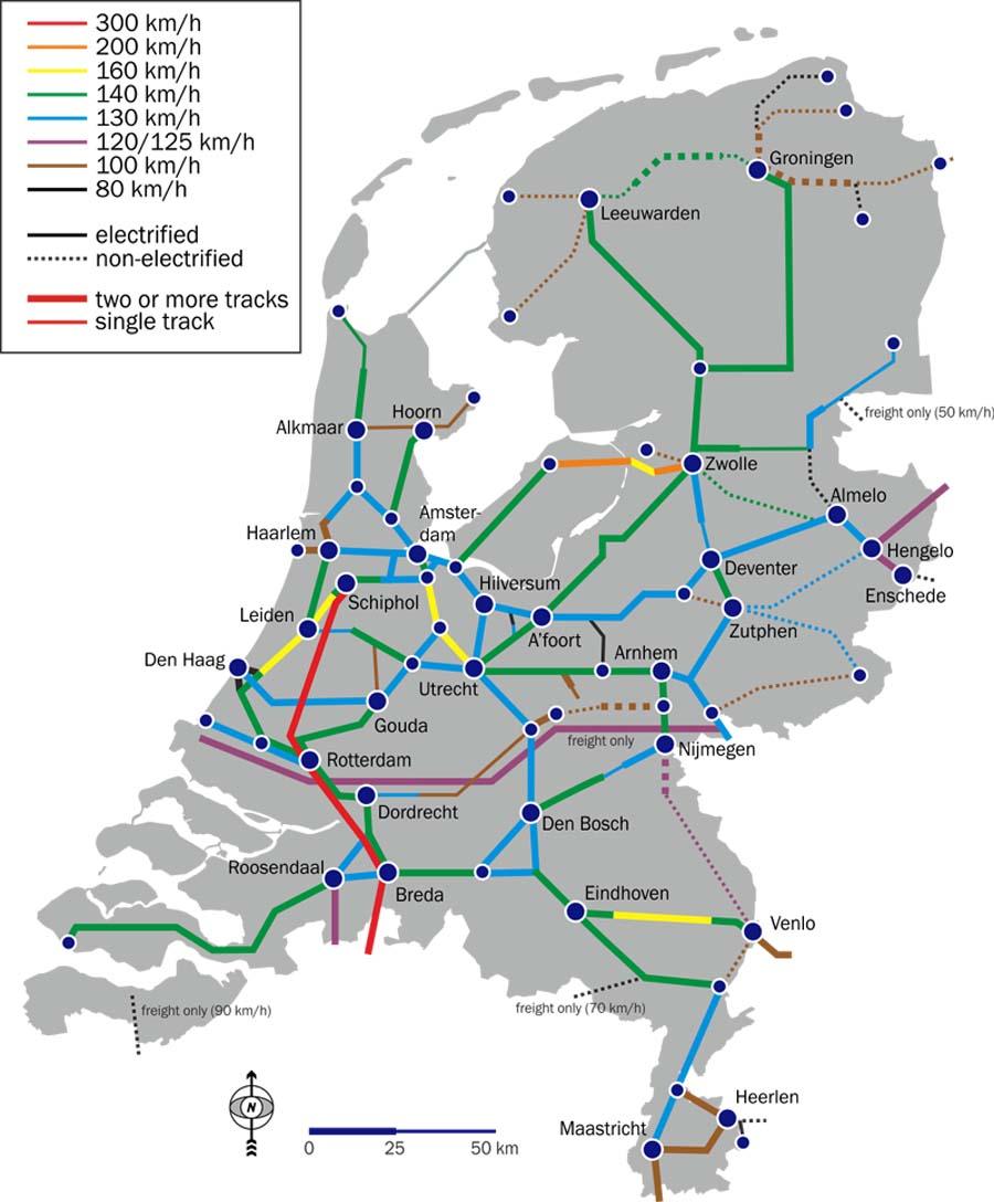 Zeleznicni Mapy Vysokorychlostni Zeleznice