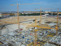 výstavba vídeňského hlavního nádraží