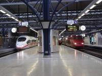 vlakem do Belgie