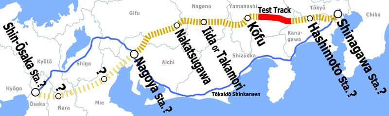 maglev mapa