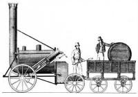 lokomotiva Raketa od Stephensona