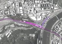 poloha VRT nádraží Ústí n. Labem