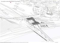 vizualizace VRT nádraží Ústí n. Labem
