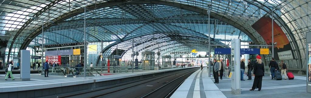 Berlín hlavní nádraží