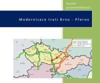 Studie proveditelnosti Modernizace trati Brno ‐ Přerov