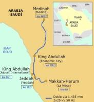 Haramain VRT mapa