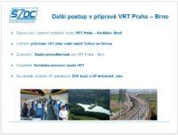 Švehlík příprava VRT PRaha-Brno